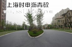 小区沥青砼路面新建效果图